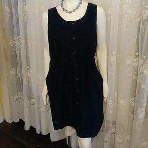 Great Navy Sleeveless Dress